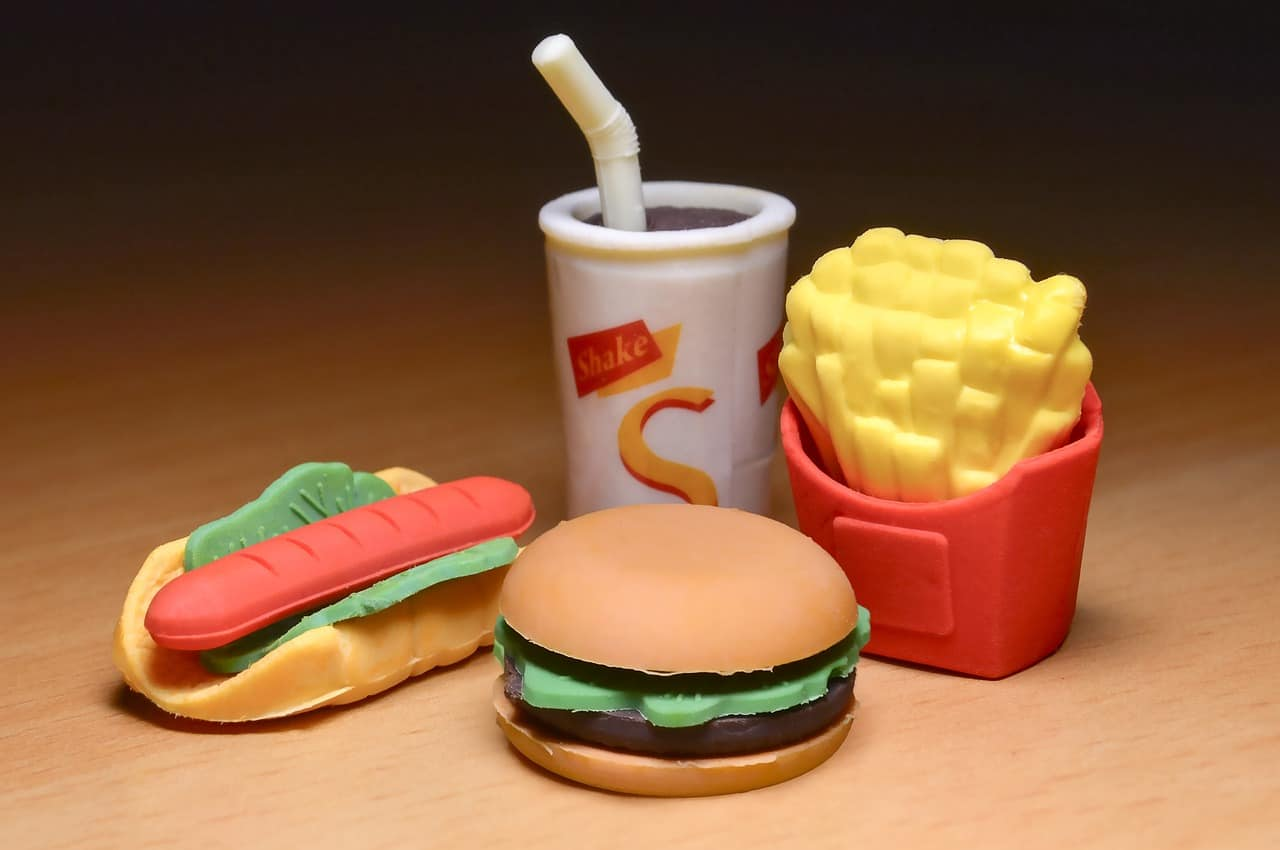 chips, fast food, food